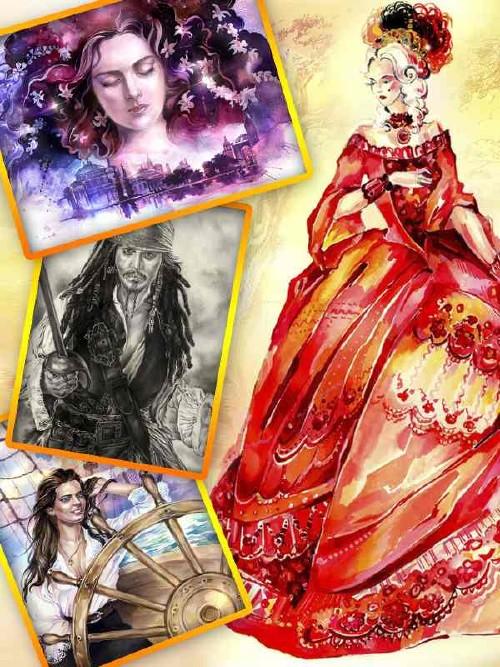 Natalia Volodeva - creativity Kazakh artist
