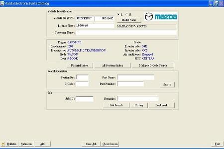 Mazda EPC II ( 6/2013, ENG )